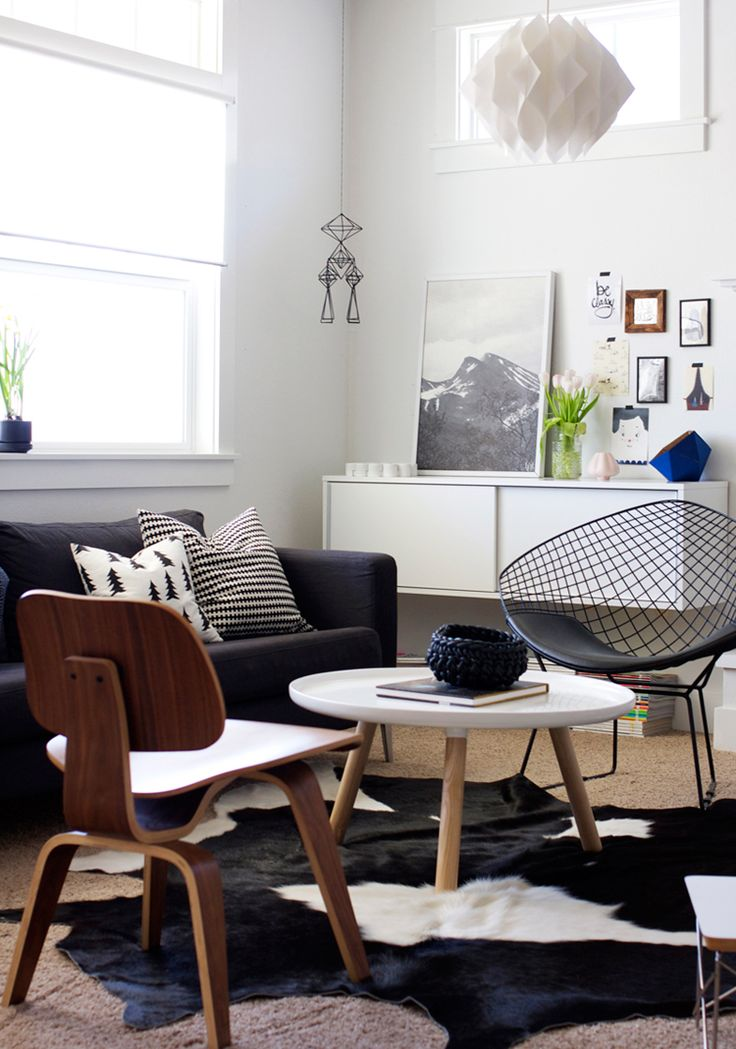 ::Living Rooms, Decor Ideas, Eames Chairs, Bertoia Diamonds Chairs, Livingroom, Interiors Sweets, Interiors Design, Merry Mishap, Living Room Furniture