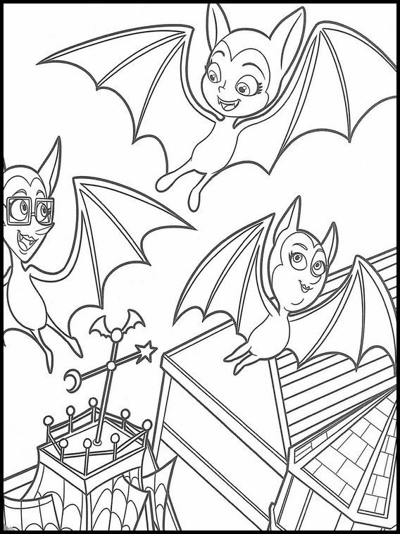 Vampirina 39 Printable Coloring Pages For Kids Coloring Pages