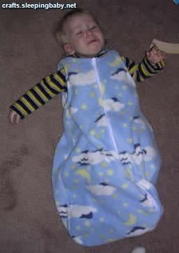 DIY Baby Sleeping Bag