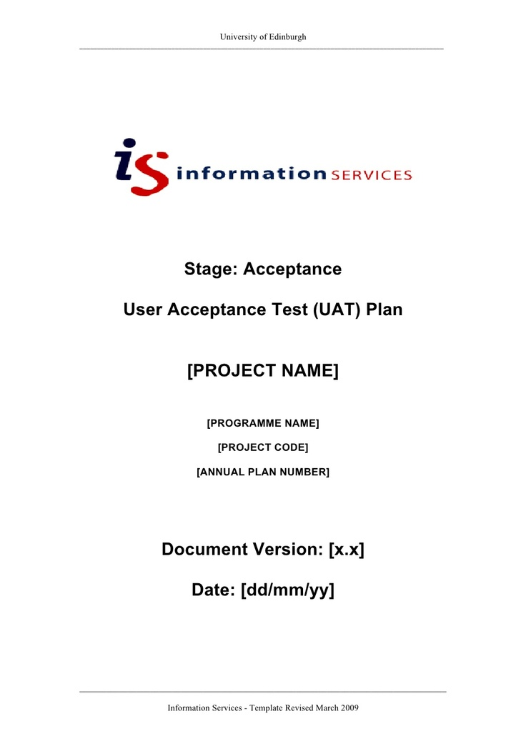 User Acceptance Test Template Doc Image collections - Template ...