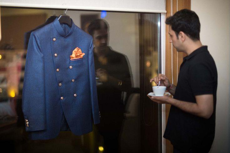 Destination Wedding Photographer Mumbai India | Groom Getting Ready – Pre…