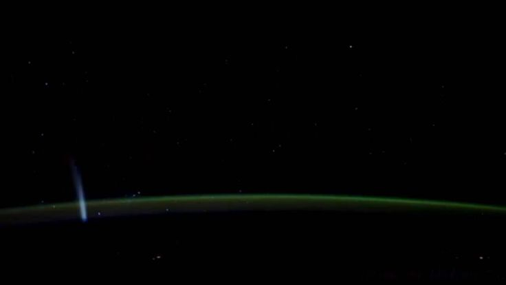 Comet Lovejoy As Seen From The ISS