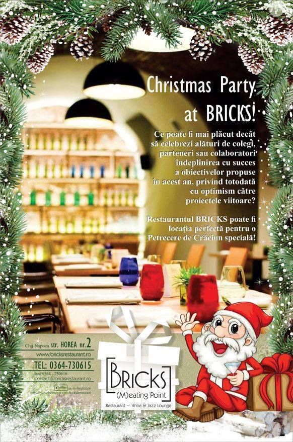 Fiecare petrecere de Crăciun organizată la BRICKS a fost o celebrare unică a succeselor din 2013 ale companiilor.