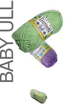 Dale of Norway Baby Ull Yarn 44 cpolours Price:		$7.00 per ball On Sale! Weight Type:		fingering Ball Weight:		50g/1.75oz ball Ball Yardage:		180 yards/165 meters Gauge:		32sts = 4in/10cm Suggested Needles:		size 1 or 2 US Contents:		100% pure Merino Wool Care:		machine or hand wash, dry flat
