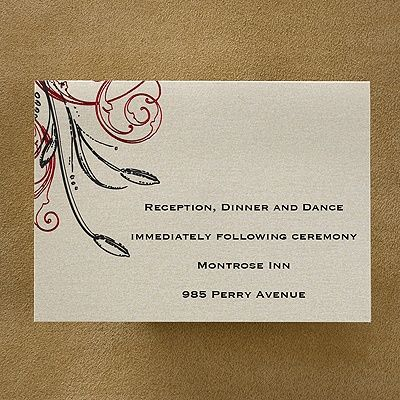 817 best reception invitation cards images on pinterest twilight roses respond card and envelope stopboris Gallery