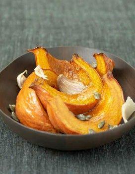 ROASTED PUMPKIN // garlic, parmesan, squash, pumpkin seeds, honey, cumin