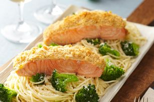 Oven-Roasted Salmon for Two recipe  #ValentinesDay