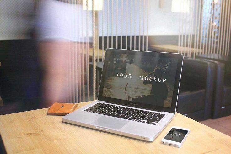Free MacBooK Pro mockup download 1