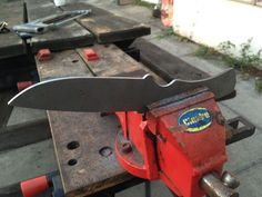 Weekend Project: How to Make a Custom Knife from Scratch   Man Made DIY   Crafts for Men   Keywords: DIY, knife, metal, how-to