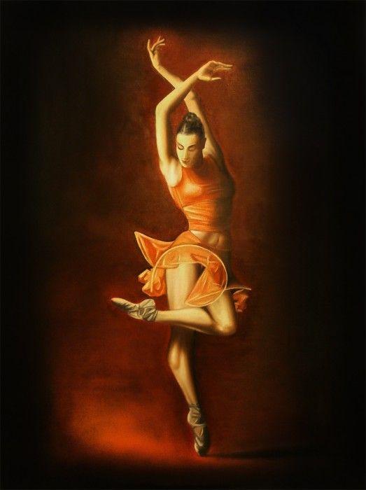 масло балерина