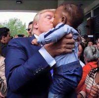 "Harvey Victims Say Meeting Trump Changed Their Minds: ""Wonderful Man"""