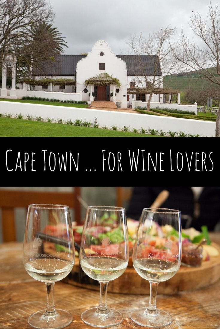 Cape Town For Wine Lovers via christineknight.me