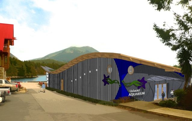 Grand opening of the Ucluelet Aquarium June 1st, 2012!