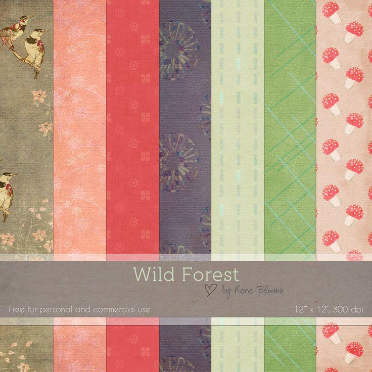 Wild Forest Digital Paper by SunnyFunLane  ✿ Follow the Free Digital Scrapbook board for daily freebies: https://www.pinterest.com/sherylcsjohnson/free-digital-scrapbook/ ✿ Visit GrannyEnchanted.Com for thousands of digital scrapbook freebies. ✿