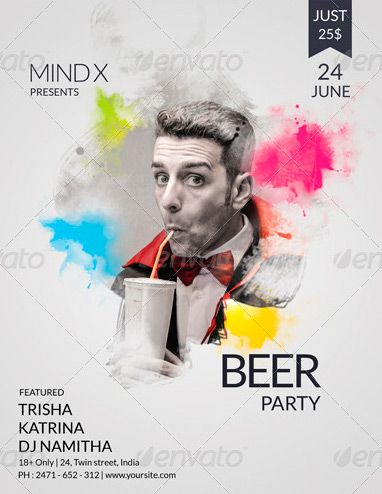 Best Yes Photoshop Psd Images On   Flyer Template