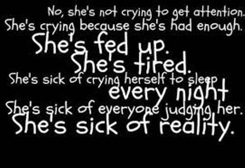 25+ Best Ideas About Cry Quotes On Pinterest