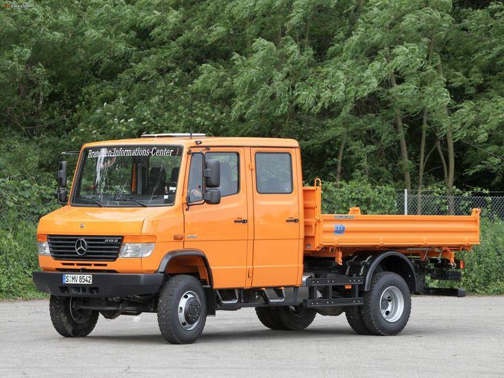 20 best ideas about mercedes vario on pinterest for Mercedes benz 4x4 truck