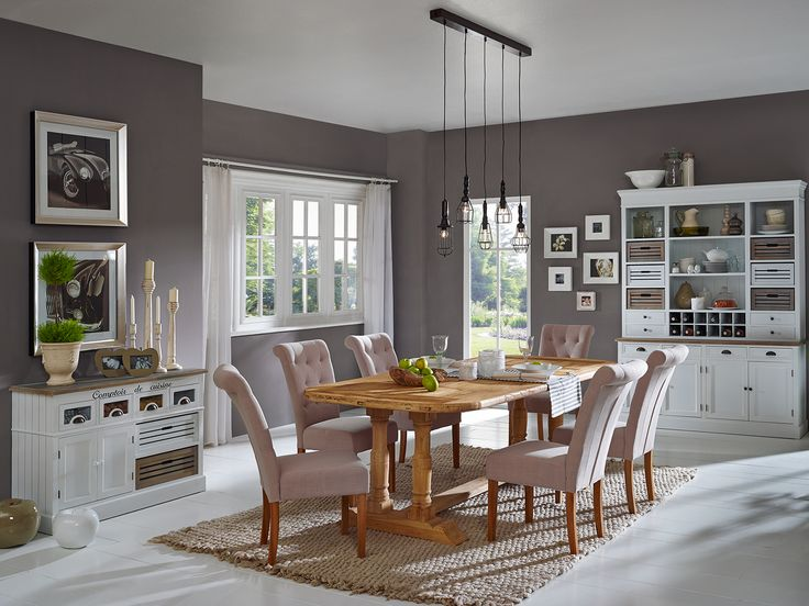78 best Esszimmer images on Pinterest Dining room, Diner table - esszimmer moderner landhausstil