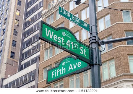 5th Avenue Sign, New York - Shutterstock