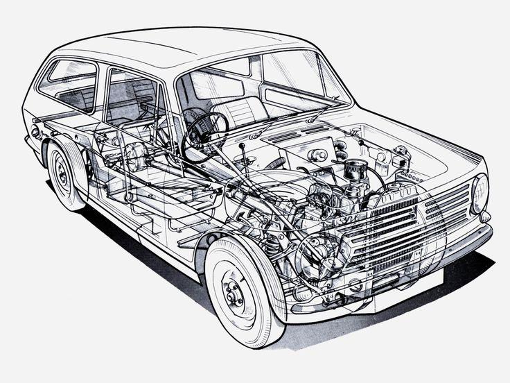 1964-1973 Reliant Rebel - Illustration uncredited