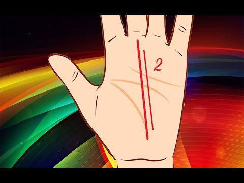 7 знаков богатства на руке. Хиромантия. - YouTube