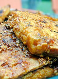 Barbecued Tofu: Barbecue Tofu, Foodies Foodies, Delicious Stress ...