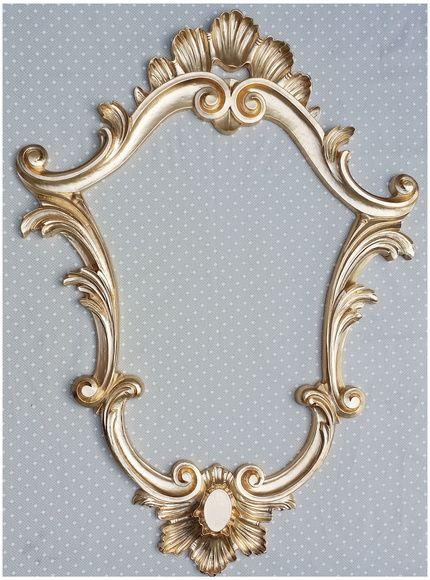 Moldura Decorativa Veneziana - Dourada