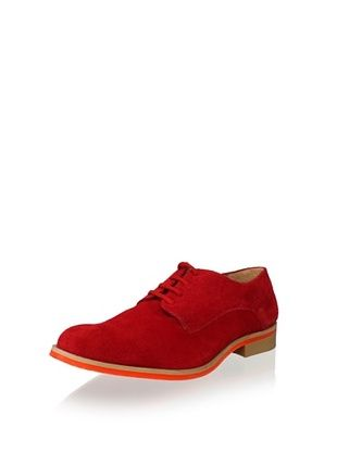 JD Fisk Men's Callum Oxford (Red Suede)