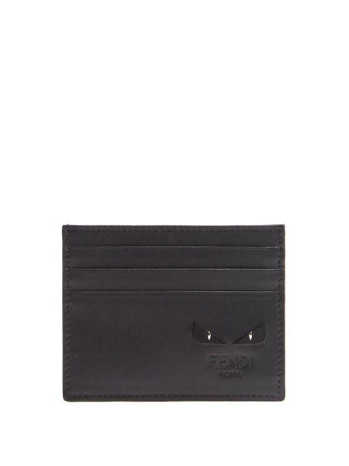 FENDI Bag Bugs Leather Cardholder. #fendi #cardholder