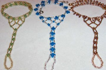 Barefoot sandals... great with belly dancing outfit... or beach wear.... or just for fun!