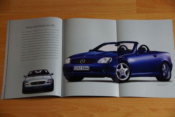 Autoprospekt Mercedes-Benz SLK Roadster, SLK 200, SLK 230 K + Preisliste, 8/1996
