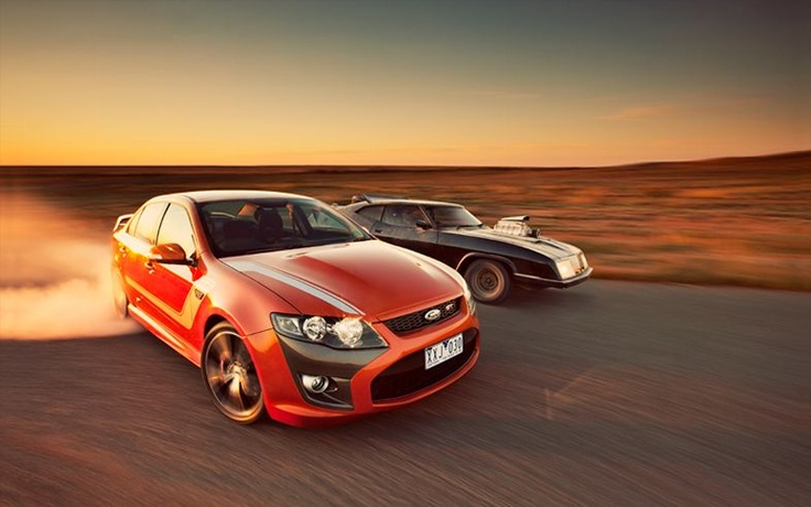 2011 Ford Falcon FPV Boss 335 GT Front End In Motion