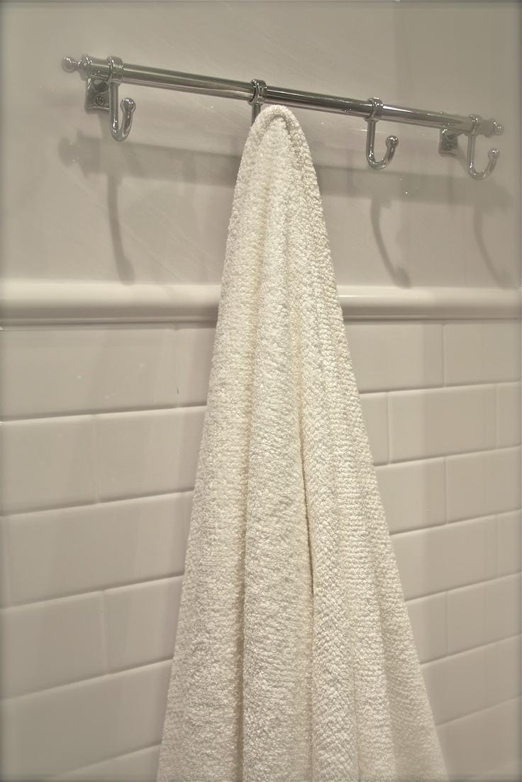 28 best Towel Hooks images on Pinterest  Bathroom Home