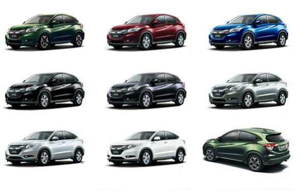 2016 Honda HRV Colors