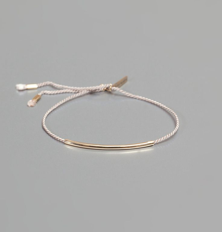 Bracelet Lutece Tube Rose Beaurepaire par Médecine Douce en vente chez L'Exception. SO WANT IT!