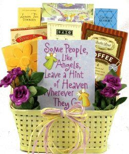 Angels Among Us - Christian Gift Basket for Women - Great Mothers Day Gift Idea