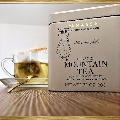 Mountain tea, 'siderites', derives its name from 'sideron', i.e. iron' and therefore Dioscorides advocated its healing power for wounds of iron objects, such as swords or arrows.  The decoctions and infusions of siderites exhibit antioxidant, detoxifying and anti-rheumatic properties. Mountain tea contains a substantial amount of essential oils and flavonoids in a cure-all caffeine-free tonic drink.  http://www.anassaorganics.com