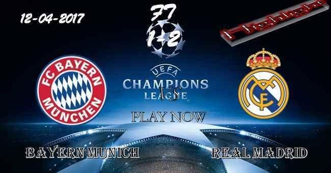 Bayern Munich 1 - 2 Real Madrid HIGHLIGHTS 11.04.2017