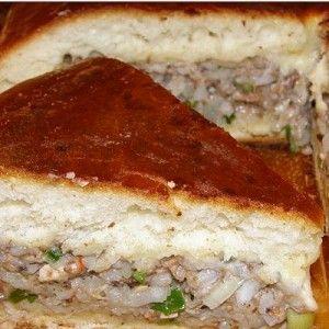 Быстрый пирог с рыбными консервами