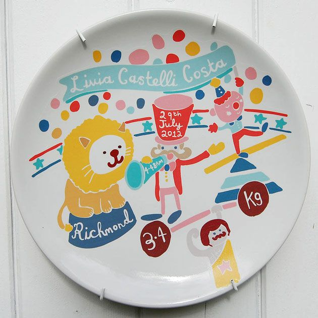 The Little Peach – Personalised Plates - BlogAndBuySale