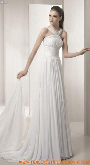 3015  Vestido de Novia  White One