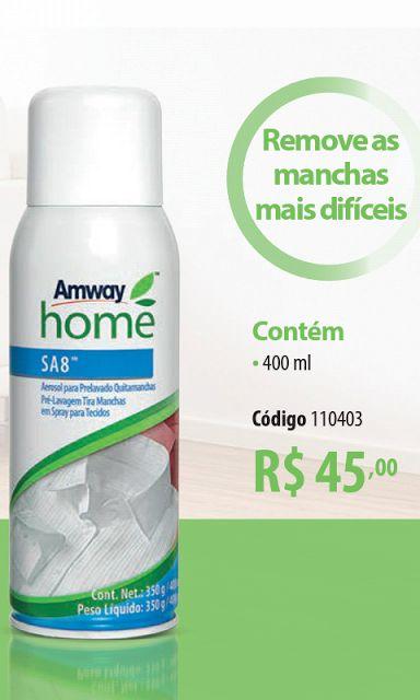 Produtos Amway Brasil Cleverton: SA-8 SPRAY TIRA MANCHAS AMWAY