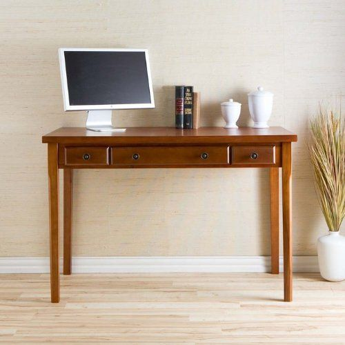 Wildon Home HO8804 A2od Computer Desk by Wildon Home. $249.99. Wildon Home HO8804 Simple yet classic styling makes this desk the perfect addition to your home. With a slide out keyboard tray and a small pen drawer on either side, this convenient desk is the perfect solution for writing or computer space in any room. Crafted with solid birch hardwood legs, a birch veneer top, and gun metal gray hardware, you are sure to enjoy countless years of enjoyment from such a classic...