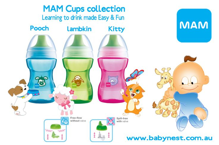 # babynest - MAM learn to drink cups