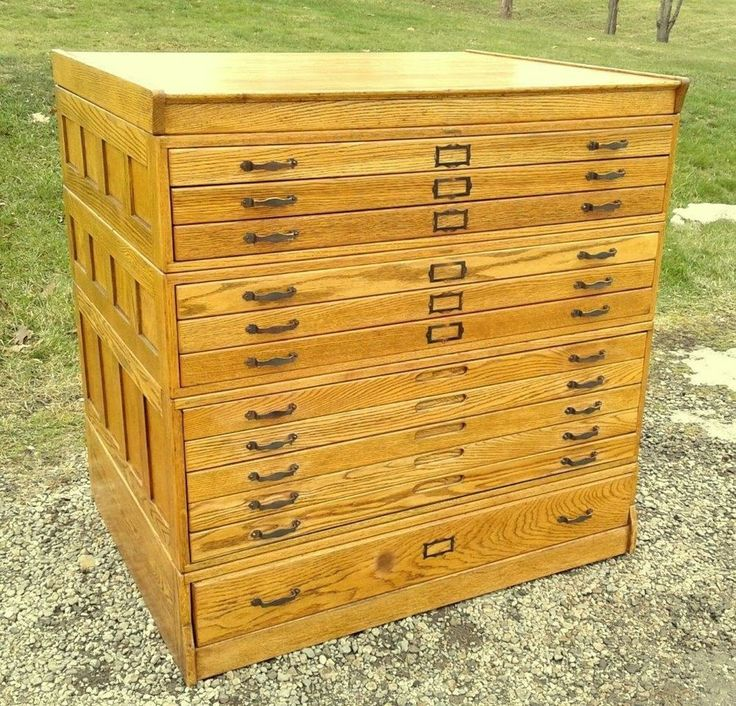 1635 best sold items in sugarcreek antiques images on pinterest antique oak hamilton flat file map blueprint cabinet 12 drawers circa 1930 malvernweather Gallery