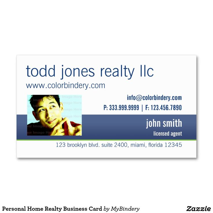 #hitpictures Personal Home Realty Business Card