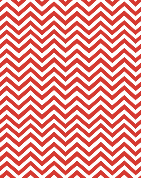 Red chevron paper - free printable
