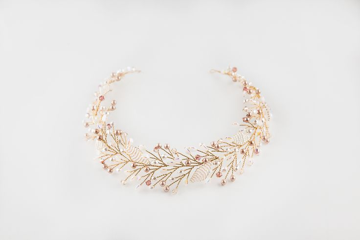 Sirenity handmade bridal headband