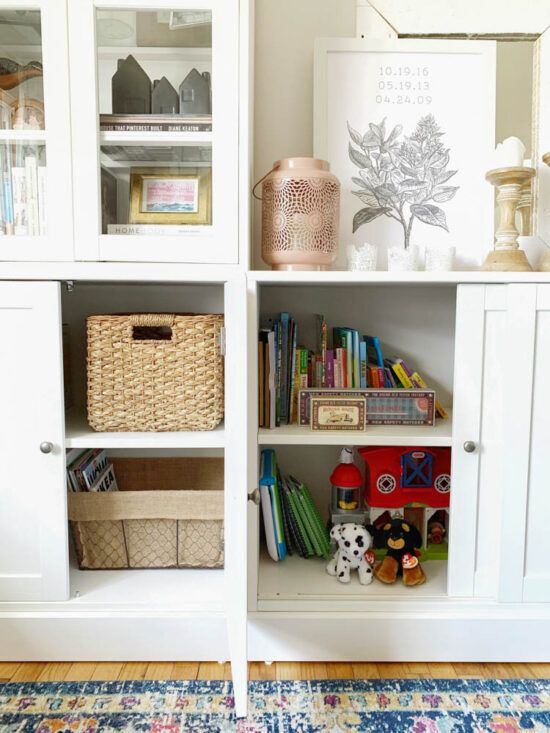 IKEA Havsta Review in 2020   Living room toy storage, Ikea ...