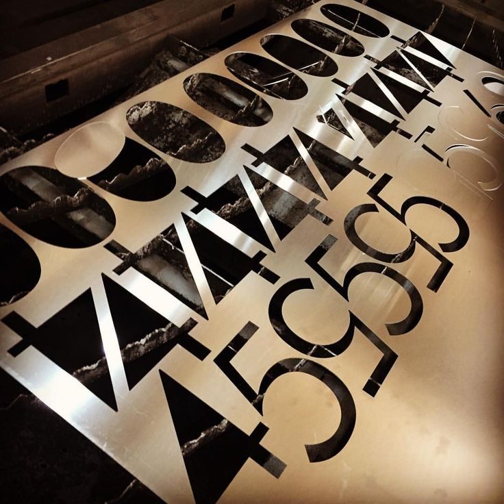 "50 Beğenme, 1 Yorum - Instagram'da otimsan - family business (@otimsan): ""Laser cutting numbers #gevelreclame #skyltar #skylt #skilt #valomainos #ensiegne #reclame #signage…"""